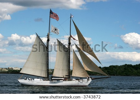 beautiful tall ship