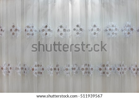 Black Curtain Texture beautiful window curtains drapes pattern background stock photo