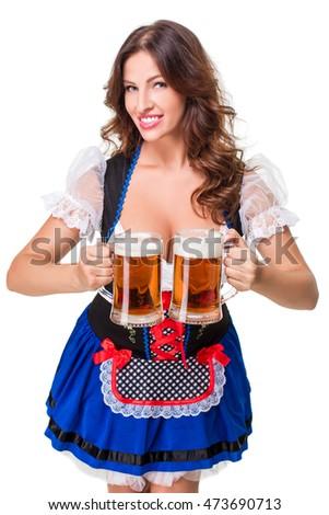 Glamorous on the Oktoberfest