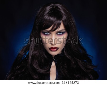 Busty brunettevampire boy girl porn