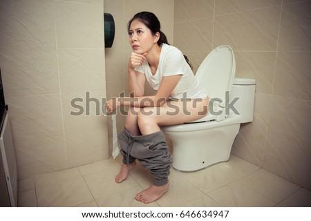 Sitting on stomach japan