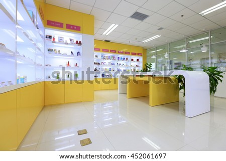 Beijing - May 17: imported goods exhibition hall in a trading company, May 17, 2016, Beijing, China