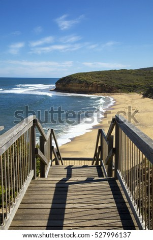 Bells beach on Great ocean road in Victoria, Australia