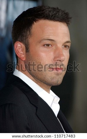 "Ben Affleck at the world premiere of ""The Bourne Ultimatum"" Arclight Cinemas, Hollywood, CA. 07-25-07"