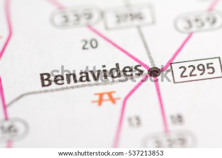 Benavides. Texas. USA