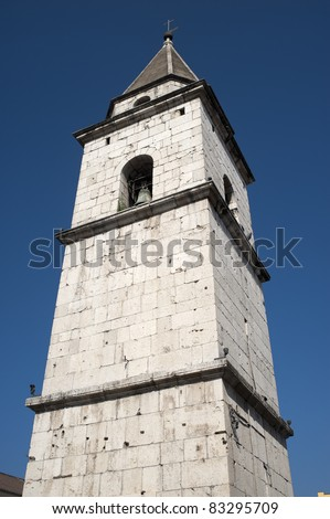 Benevento (Campania, Italy) - Historic bell tower