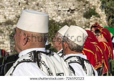 berat albania september 29 2016 traditional music festival in berat castle - Traditional Castle 2016