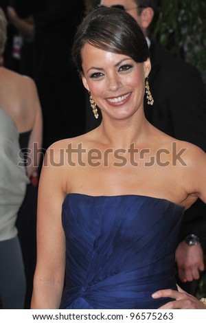 Berenice Bejo at the 69th Golden Globe Awards at the Beverly Hilton Hotel. January 15, 2012  Beverly Hills, CA Picture: Paul Smith / Featureflash