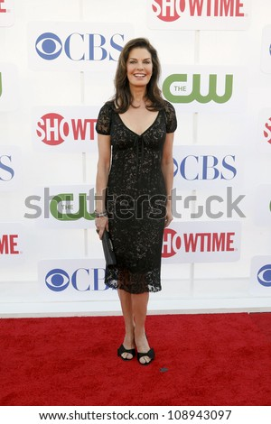 BEVERLY HILLS, CA - JULY 29: Sela Ward arrives to the Beverly Hilton Hotel for the TCA Awards on July 29, 2012 in Beverly Hills, CA.