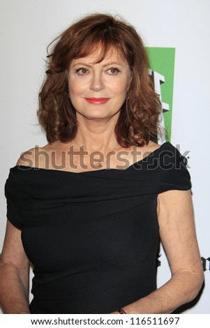BEVERLY HILLS - OCT 22: Susan Sarandon at the 16th Annual Hollywood Film Awards Gala at The Beverly Hilton Hotel on October 22, 2012 in Beverly Hills, California