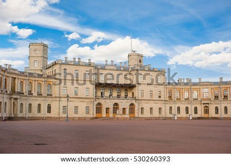 Big Gatchina Palace is Russian Federation