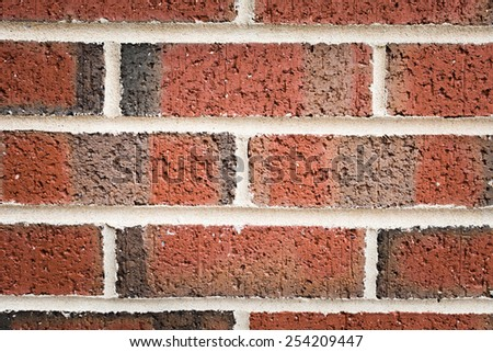 Big size of Red brick background