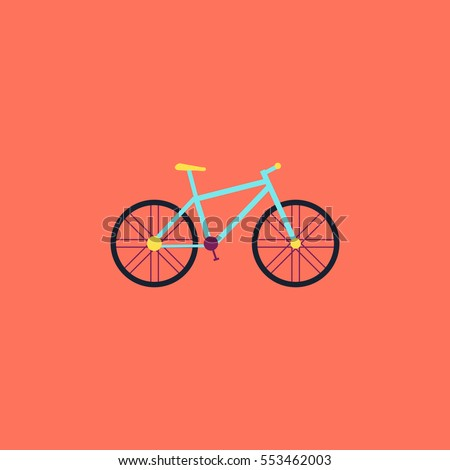 Simple bicycle illustration - photo#24
