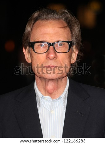 Bill Nighy arriving at the World Premiere of Jack Reacher, at Odeon Leicester Square, London. 10/12/2012 Picture by: Alexandra Glen