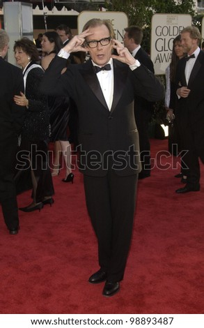 BILL NIGHY at the 61st Annual Golden Globe Awards at the Beverly Hilton Hotel, Beverly Hills, CA. January 25, 2004