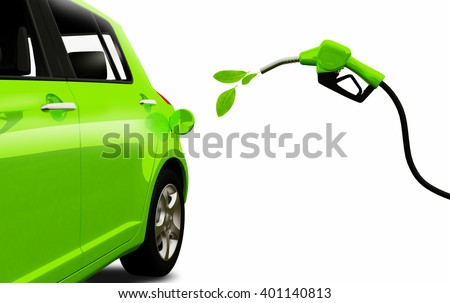 Biofuel. Eco fuel. Green energy. Save the earth, ecology, alternative energy.