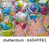 Birthday Favors for a Little Girl's Party - stock photo