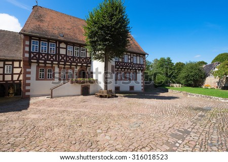 Birthplace of the brothers Grimm in Germany