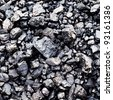 bituminous coal background. - stock photo