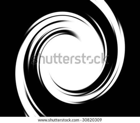 black and white abstraction
