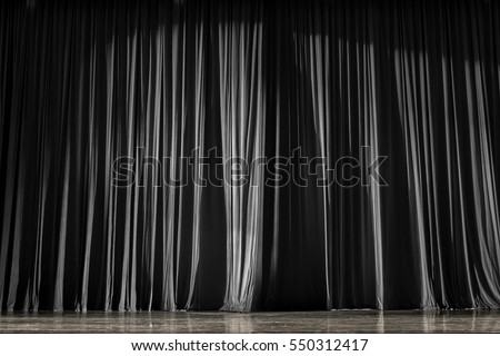 Curtains Ideas black theater curtains : Curtains Stage Parquet Stairs Theater Colorful Stock Photo ...