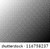 Black and white halftone background - stock vector