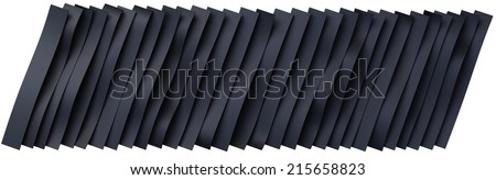 Black rubber belts background