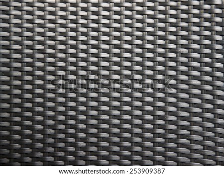 Black Wicker texture and background