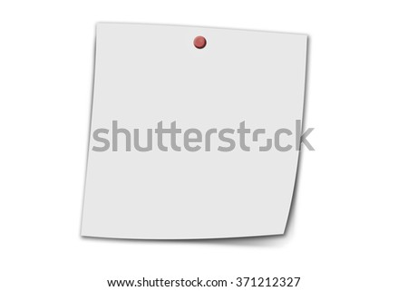 Blank Note Paper Post Office Business Stock Illustration 162028124