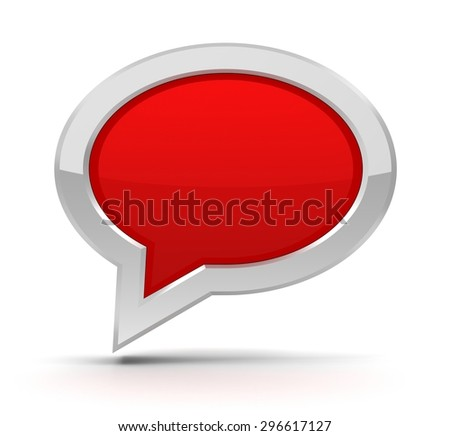blank speech bubble icon
