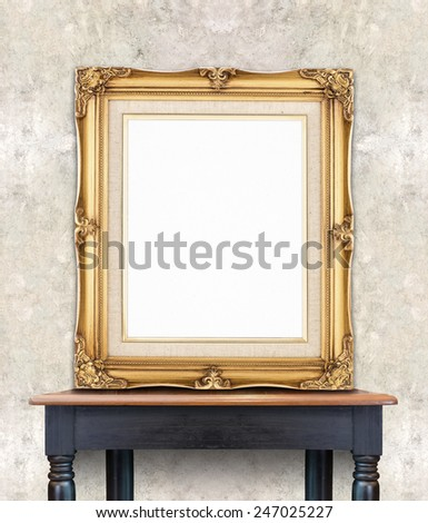 how to put picture frames up on concrete wall