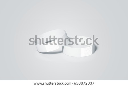 blank white rubber wristband mockup on stock photo 415827565 shutterstock. Black Bedroom Furniture Sets. Home Design Ideas