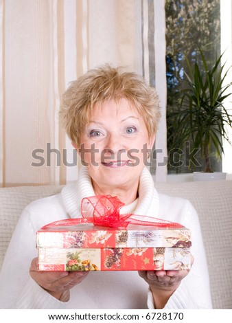 Mature give present