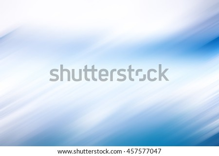 Blue and white diagonal motion blur texture for background