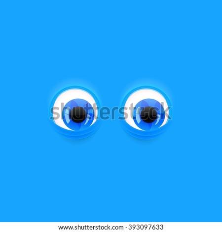 background cartoon eyes eps 10 stock vector 152814035