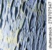 blue decorative plaster as a background - stock photo