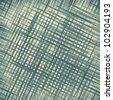 blue grid background, aqua abstract texture - stock vector
