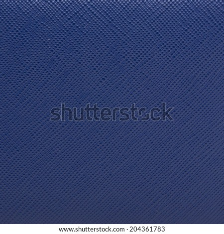 blue leather texture closeup.Useful as background