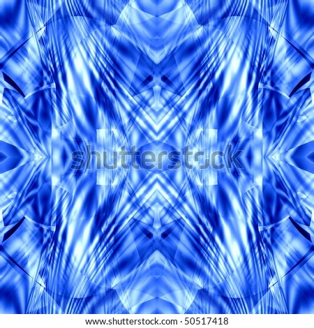blue seamless abstract background
