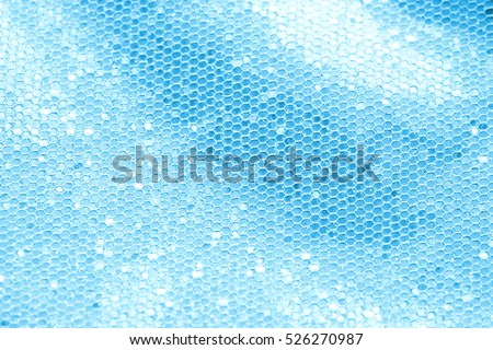 Blue sequins background