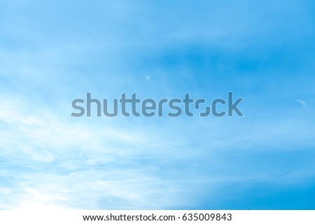 Blue sky and cloudy with lighting background in the morning.  sc 1 st  Shutterstock & Editable Vector Illustration Light Clouds Blue Stock Vector ... azcodes.com