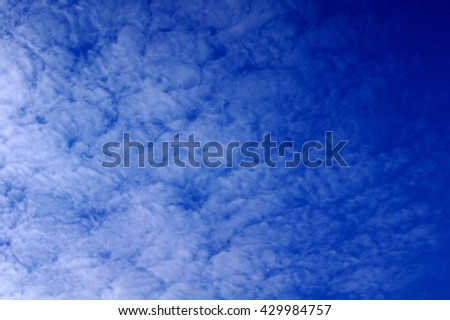 Blue sky and cloudyTexture