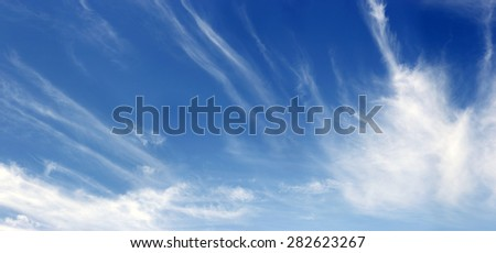 blue sky and white clouds during sunshine day