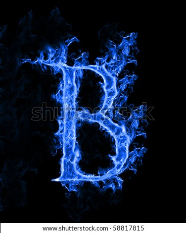 Burning Font Letter O Stock Photos, Images, & Pictures ...