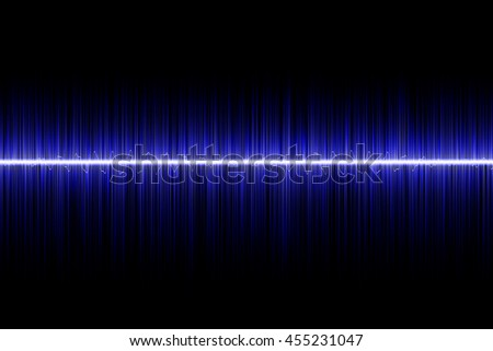 blue sound wave background
