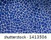 Blue Trencadis background - stock photo