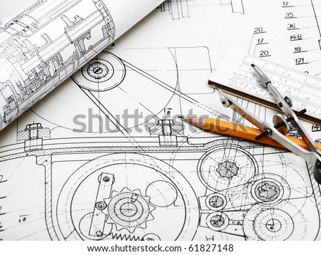 blueprint  detail and drawing tools