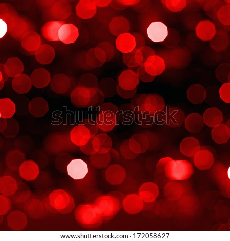 Blurred abstract background lights, beautiful Christmas.