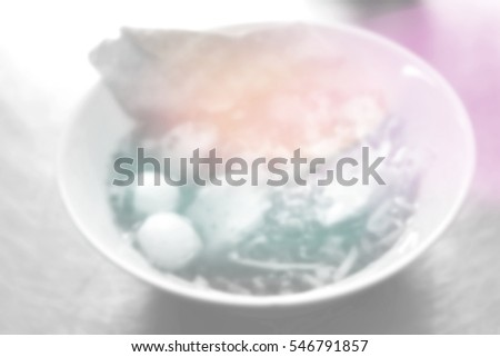 Blurred abstract background of noodles