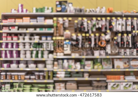 Barcelona spain march 02 2016 shelving stock photo for Kitchen gadgets barcelona